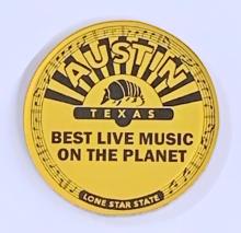 Austin Live Music Magnet