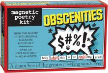Obscenities Magnetic Poetry Kit