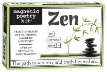 Zen Magnetic Poetry Kit