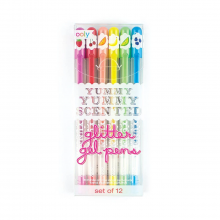 Yummy Scented Glitter Gel Pens