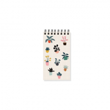 House Plants Mini Notepad by Fringe