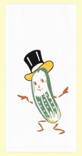 Mr. Pickle Dishtowel
