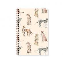 Cheetahs Spiral Notebook