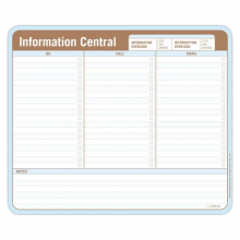 Information Central Notepad & Mousepad