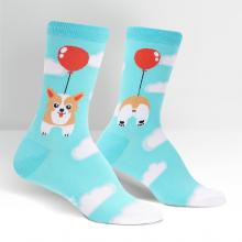 Pup, Pup, and Away Women's Crew Socks