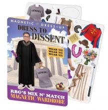 Ruth Bader Ginsburg Dress to Dissent Magnetic Wardrobe