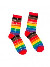 Library Card Pride Socks