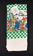 Texas Wildflower Dishtowel