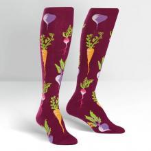 Turnip the Beet Knee High Socks