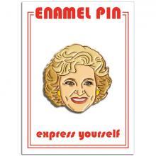 Betty White Enamel Pin