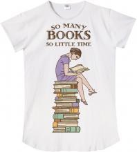 So Many Books Sleep Shirt