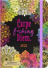 2022 Carpe F*cking Diem 16-Month Planner