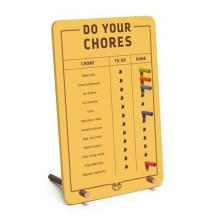 Do Your Chores Desktop Pegboard