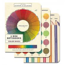 Color Wheel Mini Notebook Set