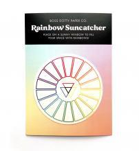 Color Wheel Rainbow Suncatcher Sticker