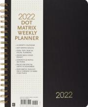 2022 Dot Matrix Weekly Planner