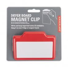 Magnetic Clip with Dry Erase Board Panel (red option)