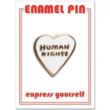 Human Rights Enamel Pin