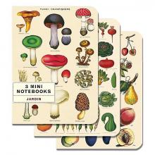 Le Jardin Mini Notebook Set