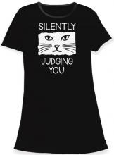 Silently Judging You Sleep Shirt