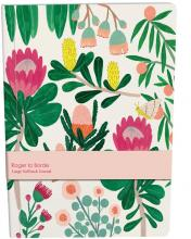 Cover design: Pink and yellow flowers on an ivory background