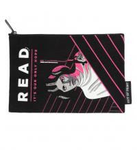 Star Wars Princess Leia Read Zipper Pouch (front)