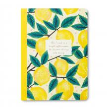 Lemons All I Need is a Bright Afternoon Journal (cover)