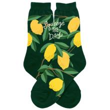 Squeeze the Day Lemons Socks