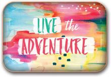 Live the Adventure Metal Tray