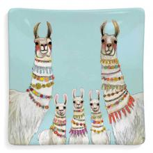 Llama Necklaces Ceramic Trinket Tray
