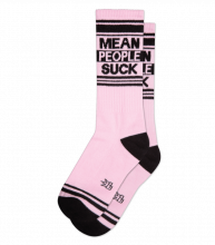 Mean People Suck Gym Socks