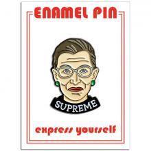 Ruth Supreme RBG Enamel Pin
