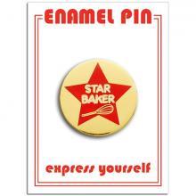 Star Baker Enamel Pin