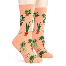 Punny Plant Lady Socks