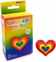 Rainbow Heart Bandages