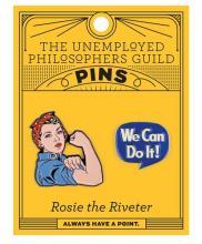 Rosie The Riveter Enamel Pin Set