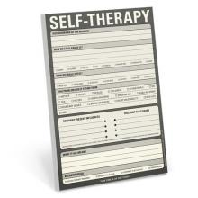 Self Therapy Large Notepad