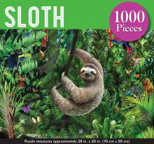 Sloth 1000 Piece Jigsaw Puzzle