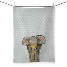Trendy Trunk by Eli Halpin Tea Towel