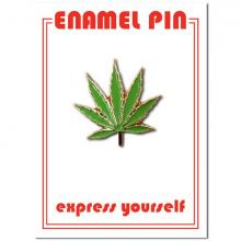 Marijuana Leaf Weed Enamel Pin
