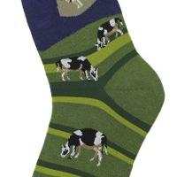 Alien Abduction Socks