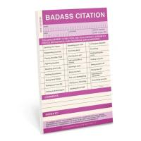 Badass Citation Notepad