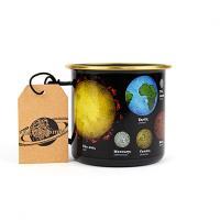 Astronomia Planets Enamel Mug
