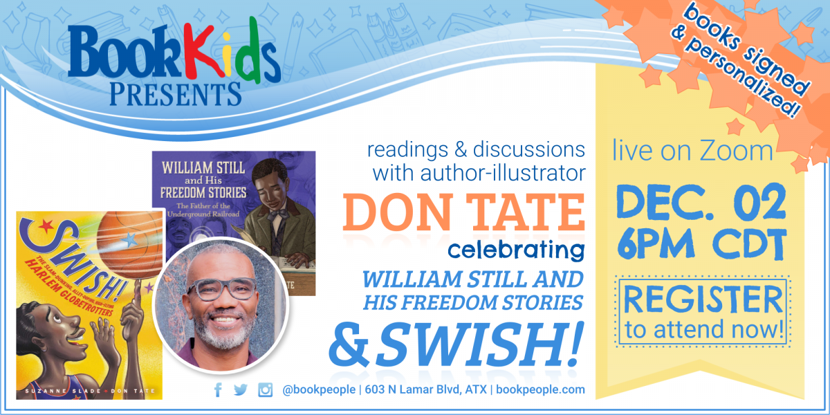 Don Tate Kids Event