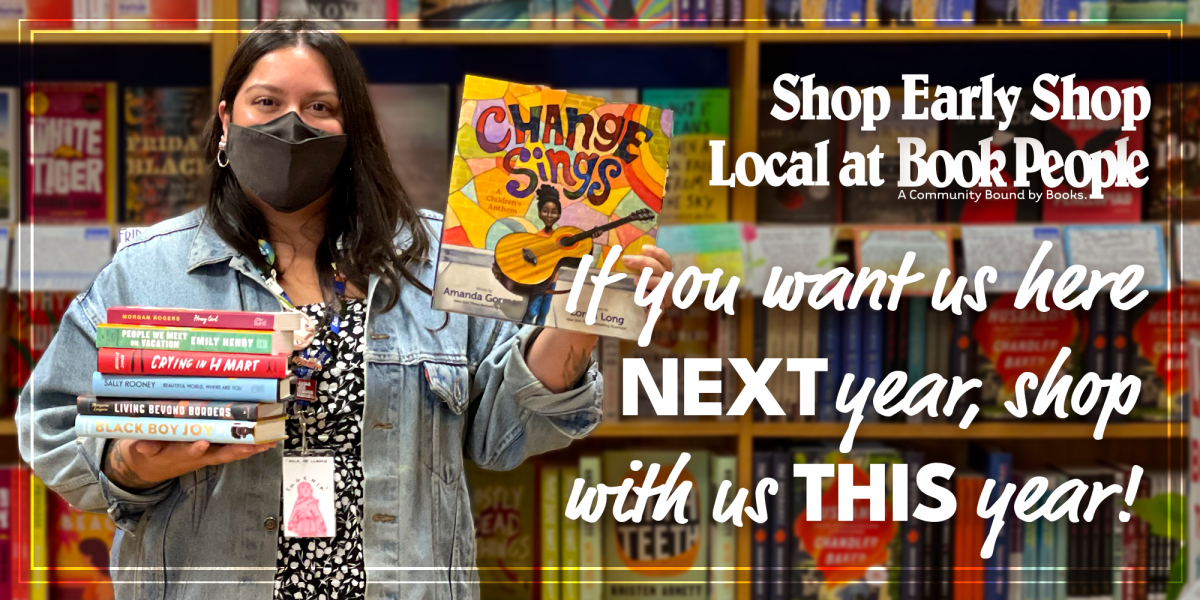 Shop early shop local marketing campaign graphics