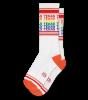 Rainbow Texas Gym Socks
