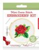 Rose Mini Cross Stitch Kit