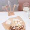 Medieval Cheese Board in action