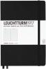 Black Leuchtturm Ruled Hardcover Notebook Medium