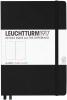 Black Medium Plain Notebook